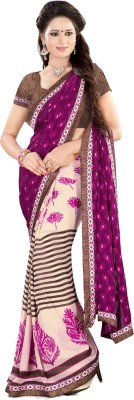 Granth Self Design Bollywood Georgette Sari