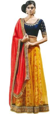 Fashionista Embriodered Fashion Net Sari