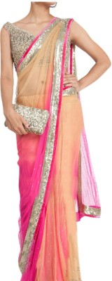 Khusi Fashion Embriodered Bollywood Net Sari