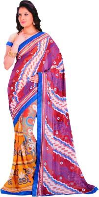 freshboss Graphic Print Coimbatore Synthetic Sari