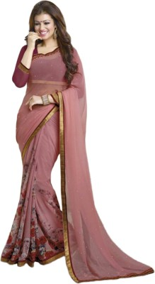 CHERIS IMPEX Printed Bollywood Georgette Sari