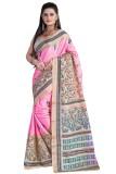 F3 Fashion Printed Bollywood Silk Sari