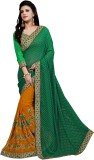 Chaand Embroidered Fashion Pure Georgett...
