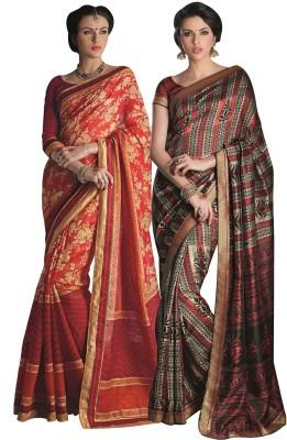 Aesha Printed Daily Wear Art Silk Sari