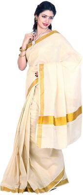 Jis Boutique Solid Fashion Cotton Sari