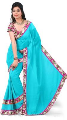 Sitaram Self Design Fashion Georgette Sari