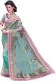 Prafful Embriodered Fashion Net Sari