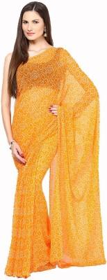 Soundarya Printed Bandhej Georgette Sari