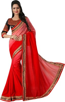 Rose Petal's Boutique Embriodered Fashion Silk Sari