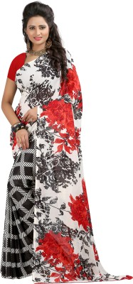 Lavniya Printed Fashion Georgette Sari