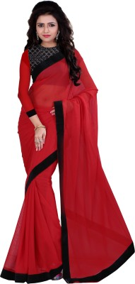 Indi Wardrobe Embellished Bollywood Georgette Sari