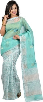 Nyaye Self Design Fashion Net Sari