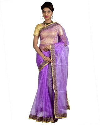 Manisha Designer Self Design Fashion Net Sari