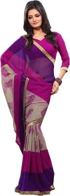 Aryahi Floral Print Daily Wear Georgette Sari