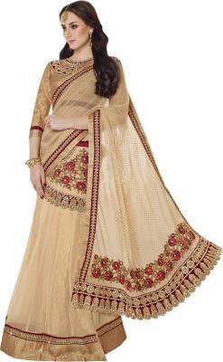 Moh Manthan Self Design Lehenga Saree Net, Jacquard Sari