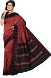 Mann Solid Fashion Handloom Art Silk Sar...