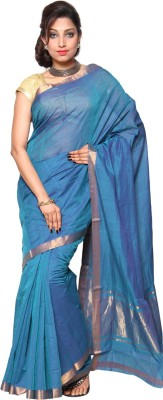 Urban village Self Design Mangalagiri Cotton Sari