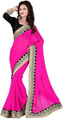 SRK Self Design Bollywood Handloom Cotton Linen Blend Sari