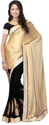 Spangel Fashion Self Design Banarasi Cotton Sari