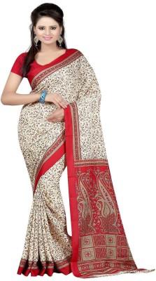Majestic Silk Printed Fashion Crepe Sari