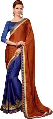 Kabira Embriodered Fashion Satin Sari