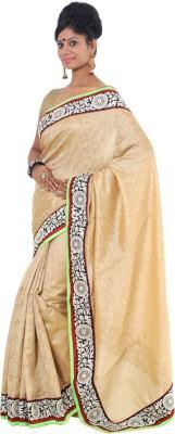 Vikrant Collections Graphic Print Bollywood Jute Sari