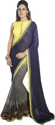 Aruna Fashions Printed Fashion Pure Georgette Sari