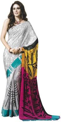 Sangam Collections Printed, Self Design Fashion Art Silk, Silk, Dupion Silk, Crepe Sari