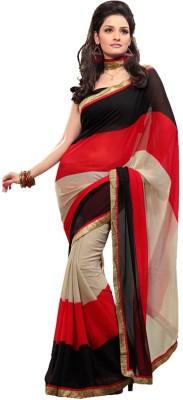 Memsahiba Solid Fashion Chiffon Sari
