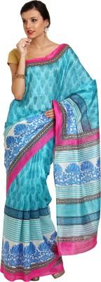 Satrang Printed Daily Wear Art Silk Sari