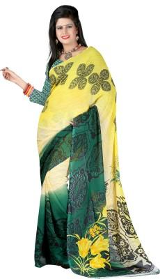 Harshikadesigner Printed Fashion Georgette Sari