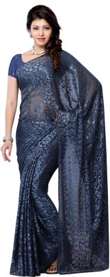 Ruda Printed Fashion Handloom Brasso Sari