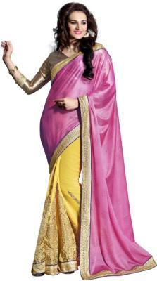 Vatsal Silk Mills Embriodered Fashion Jacquard Sari