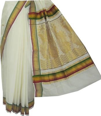 Aaranya Woven Balarampuram Cotton Sari