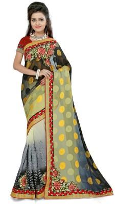 Janya Self Design Kanjivaram Georgette Sari