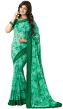 Design Villa Floral Print Bollywood Geor...