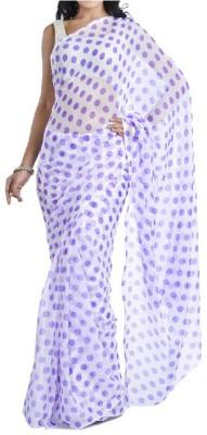 Memsahiba Polka Print Fashion Chiffon Sari