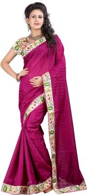 Ronaksilk Plain Bhagalpuri Cotton Sari