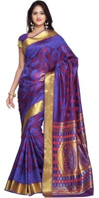 Saree Exotica Woven Kanjivaram Art Silk Sari
