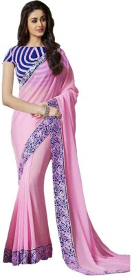 King Sales Embriodered Fashion Georgette Sari