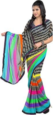 Indian Pahnaav Printed Bollywood Georgette Sari