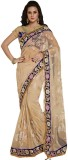 Odhni Embroidered Bollywood Net Saree (B...