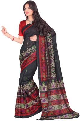 Gullera Printed Fashion Handloom Art Silk Sari