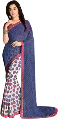 Madhuri Printed Bollywood Georgette Sari