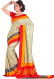 Kjs Printed Bollywood Art Silk Saree (Mu...