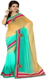 Saree Laxmi Embriodered Fashion Chiffon ...