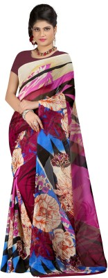 SareeBazaar Printed Bollywood Georgette Sari