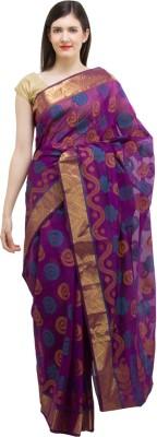 Chhabra Xclusive Printed Banarasi Cotton Sari