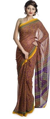 Pavani Printed Daily Wear Handloom Chiffon Sari