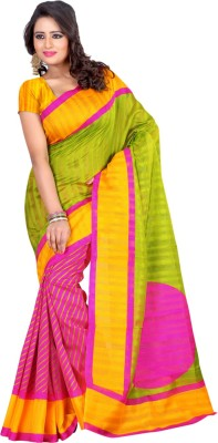 Prem International Self Design Fashion Handloom Art Silk Sari